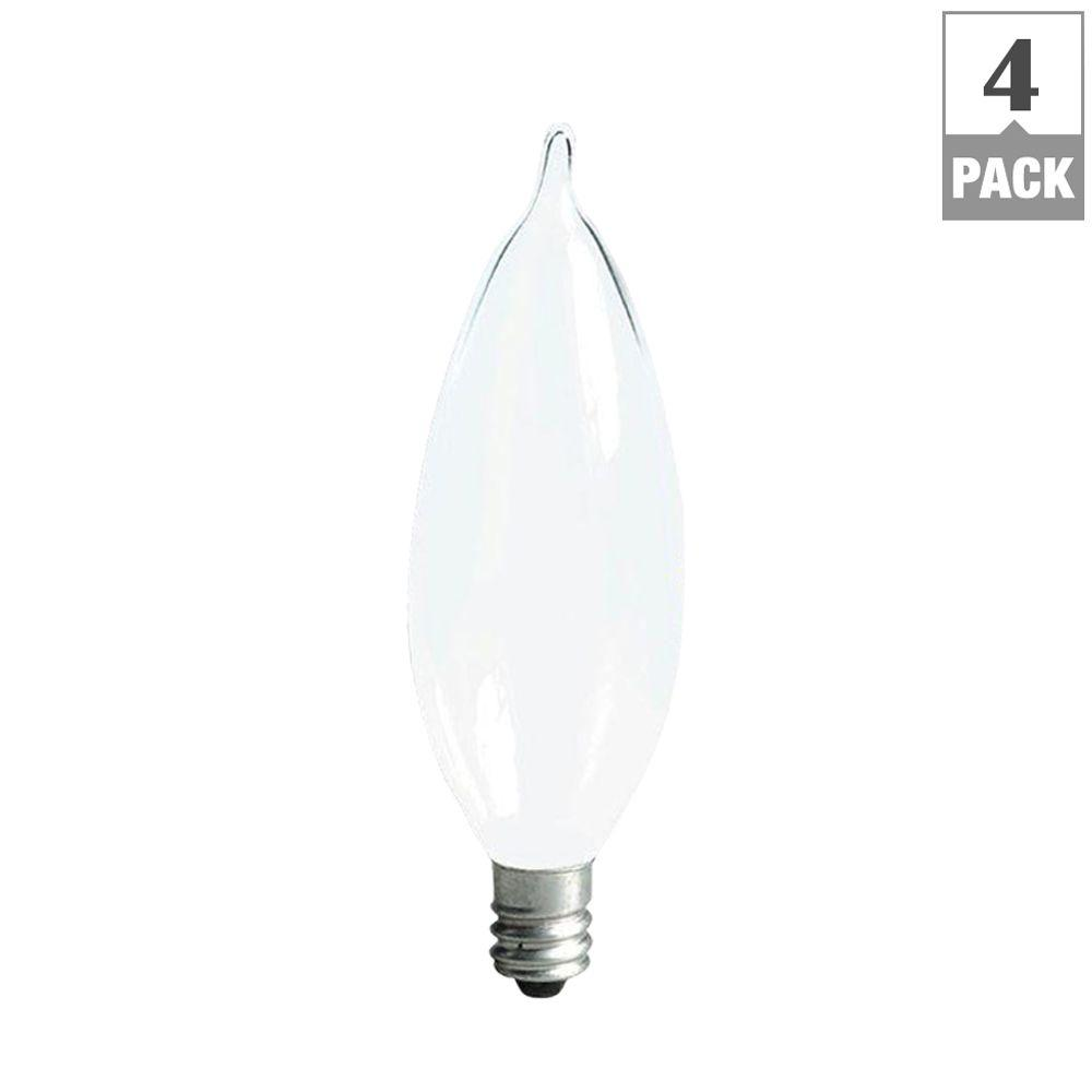 Best Ge 60 Watt Incandescent Ca10 Bent Tip Decorative This Month
