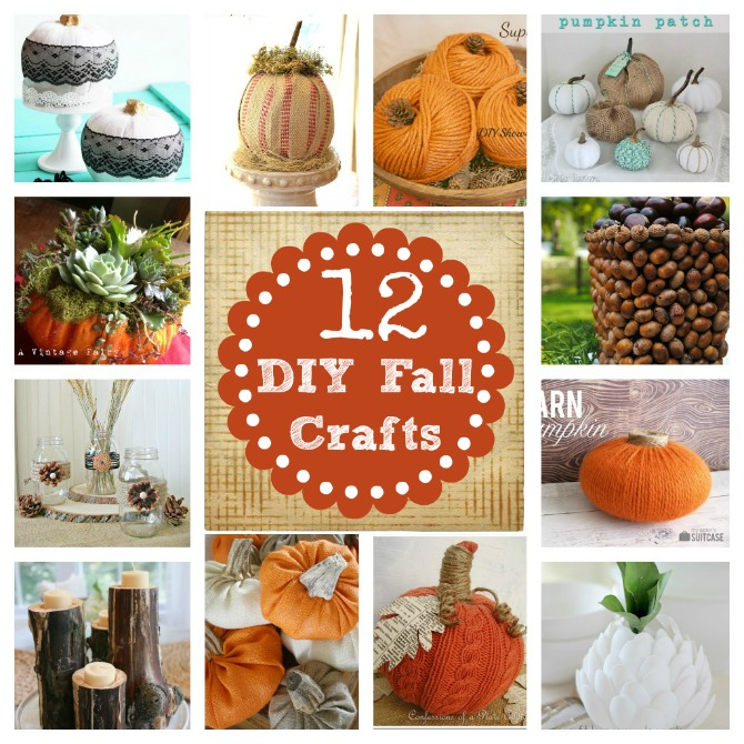Best Do It Yourself Decorating Fall Craft This Month