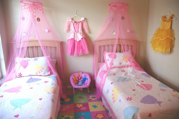 Best Princess Theme Bedroom • The Budget Decorator This Month