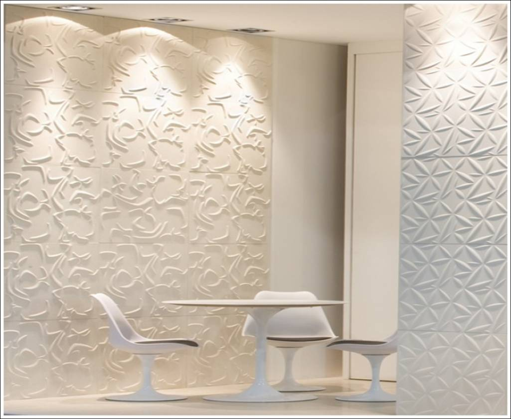 Best 3D Wall Tiles A New Dimension Of Wall Décor This Month