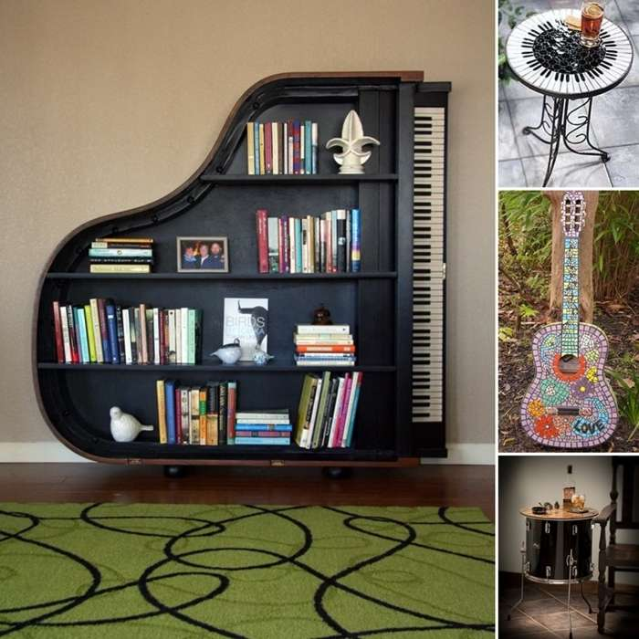 Best 10 Awesome Music Inspired Home Decor Ideas This Month