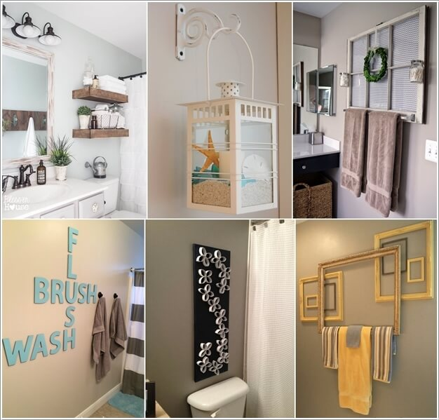 Best 10 Creative Diy Bathroom Wall Decor Ideas This Month