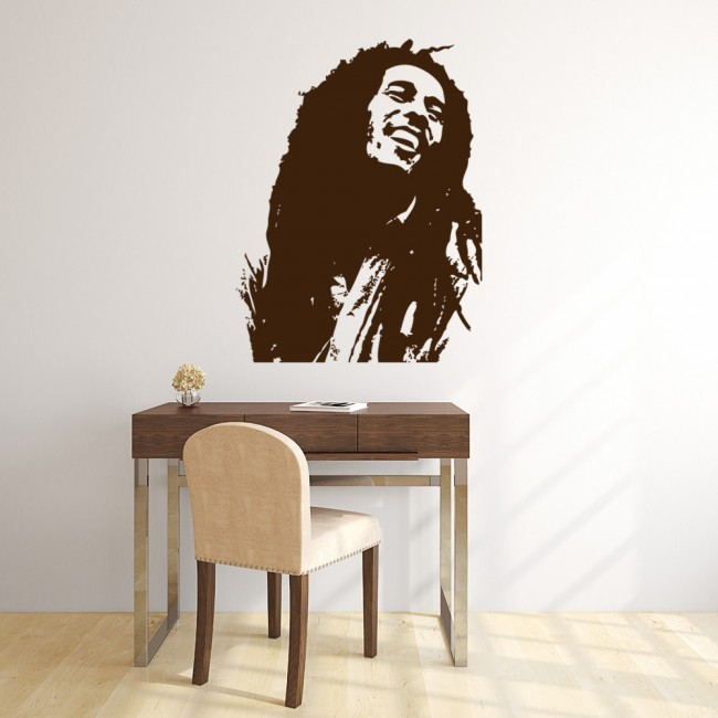 Best Bob Marley Wall Stickers Icon Wall Art This Month