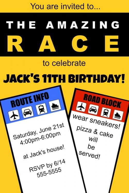 Best Great 11 Year Old Party Idea The Amazing Race Birthday This Month Original 1024 x 768