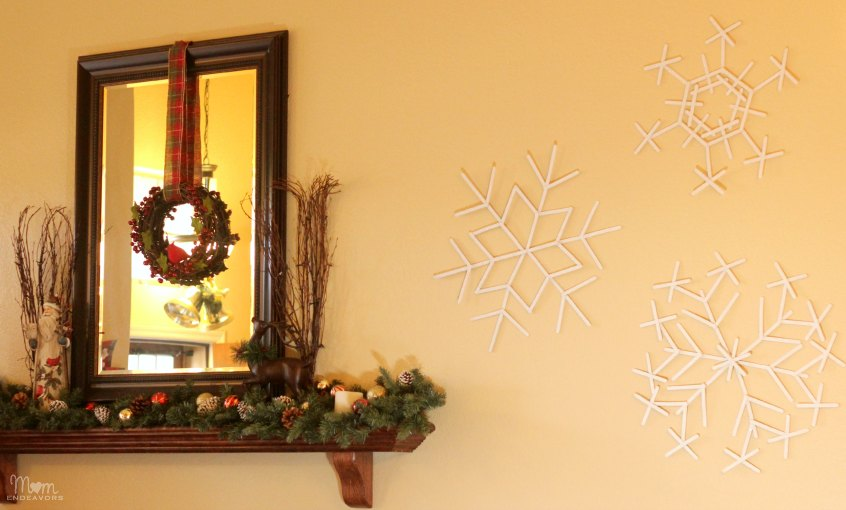 Best Diy Giant Popsicle Stick Snowflakes This Month