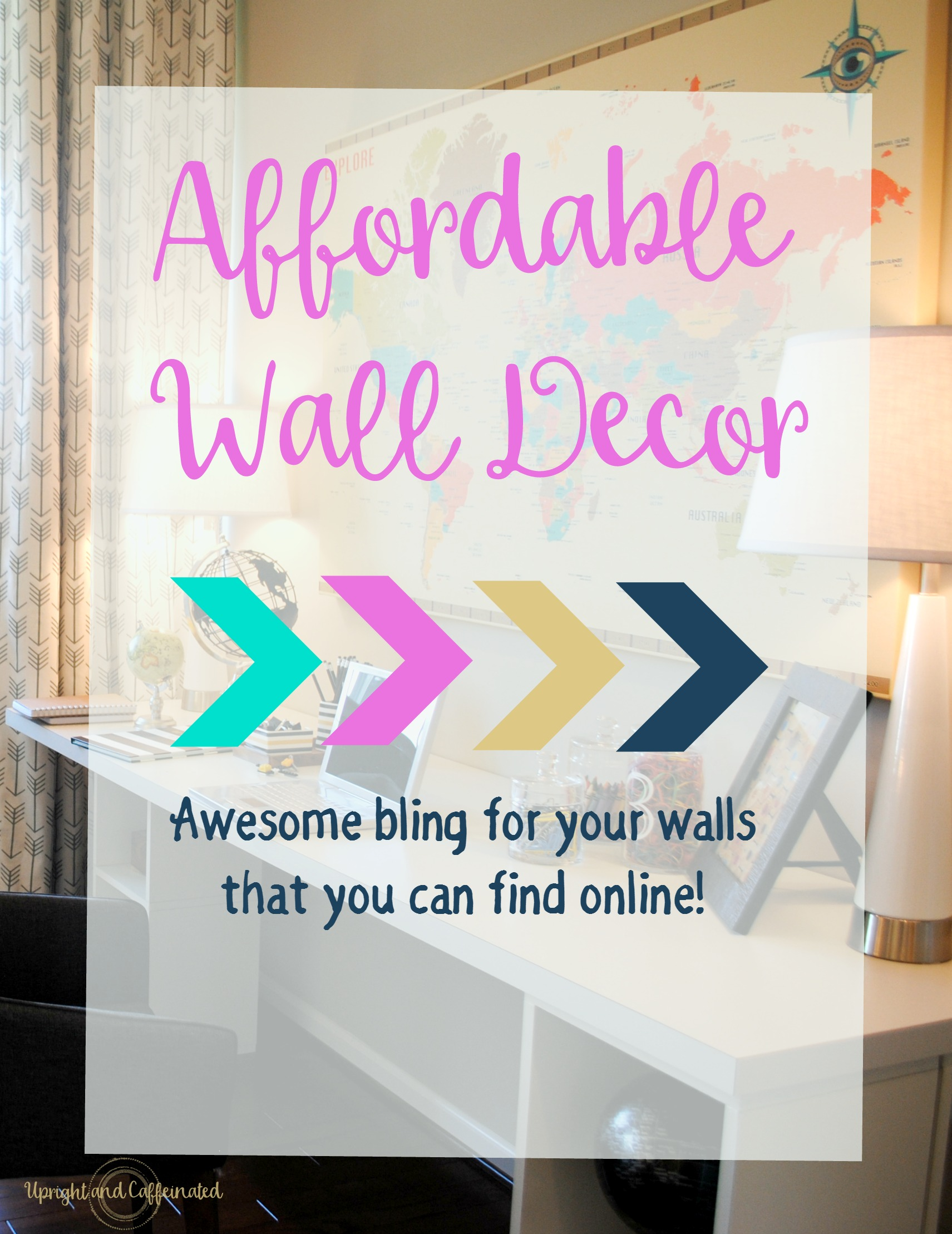 Best Affordable Wall Decor Upright And Caffeinated This Month