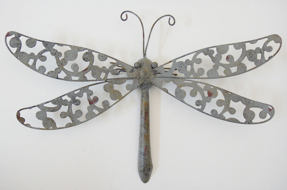 Best New Metal Wall Art Decor Shabby Chic Rustic Dragonfly Ebay This Month