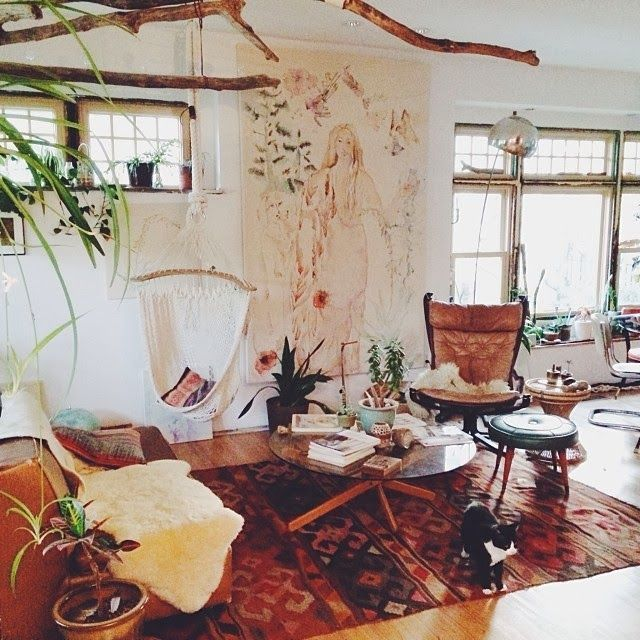 Best Hippie Chic Bohemian Decor Feng Shui Earth Element The This Month