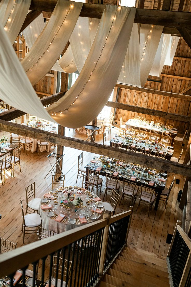 Best 10 Gorgeous Barn Wedding Receptions This Month