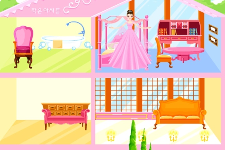 Best Big Pink Dollhouse Decoration Game Decorating Games This Month