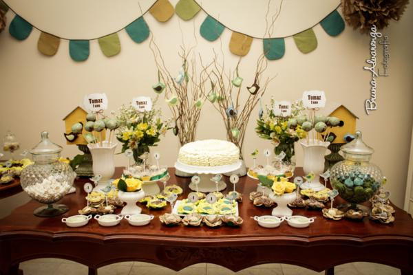Best Kara S Party Ideas » Little Bird Themed 1St Birthday Party This Month