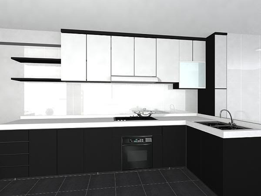 Best Black And White Kitchen Cabinets This Month