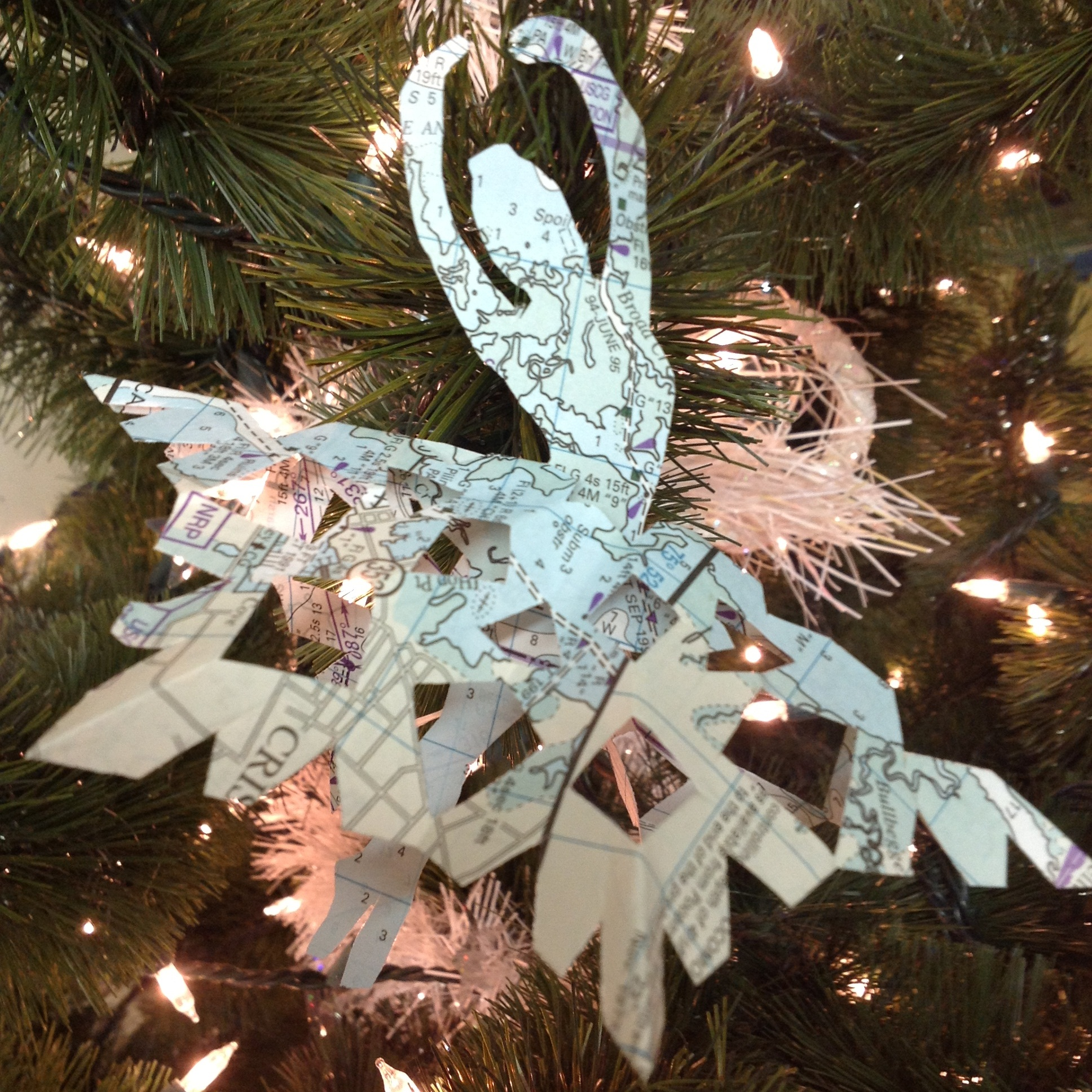 Best Paper Ballerina Snowflakes Kids Kubby This Month