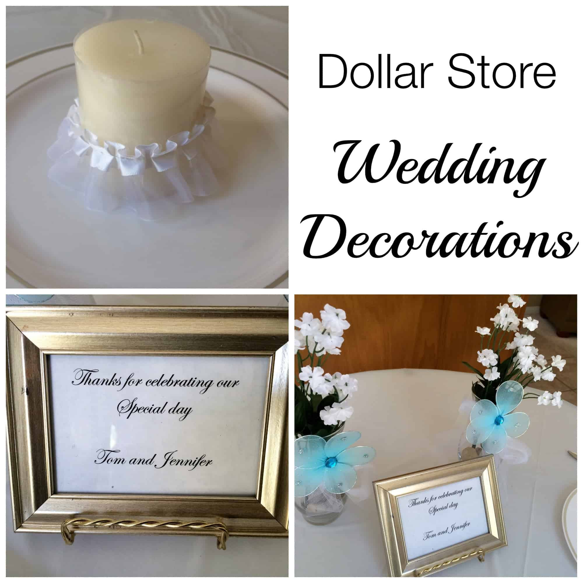 Best Dollar Store Wedding Decorations This Month