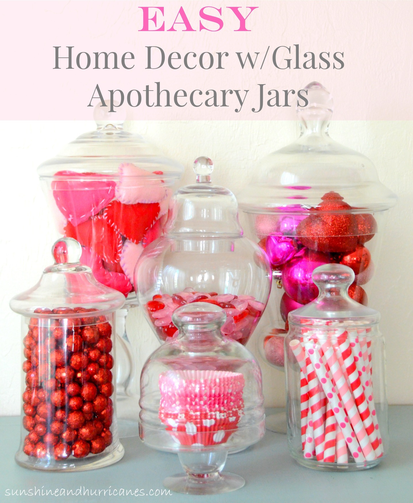 Best Easy Home Decor With Glass Apothecary Jars This Month