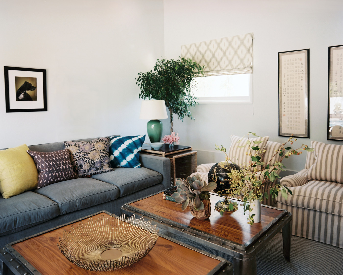 Best Blue Couch Photos Design Ideas Remodel And Decor Lonny This Month