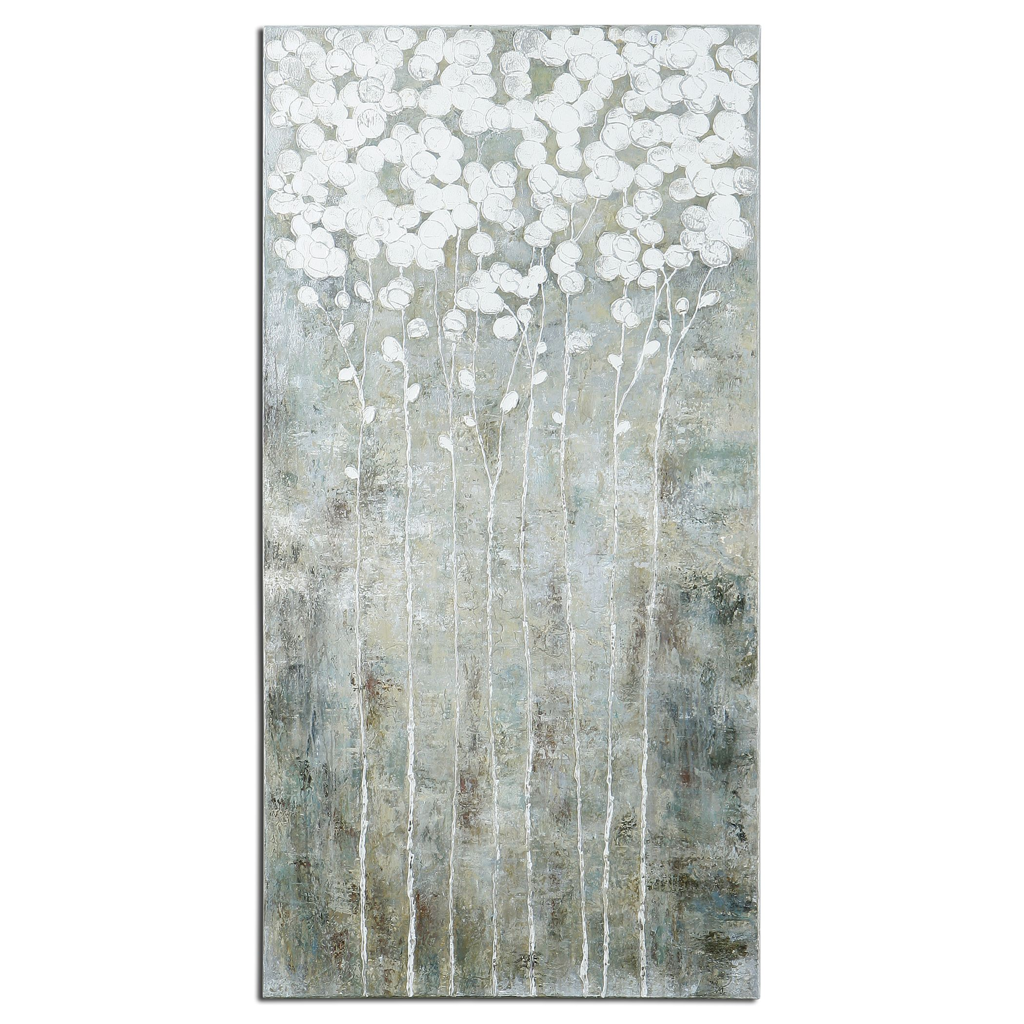 Best Uttermost Cotton Florals Wall Art 27 5W X 55H In Wall This Month