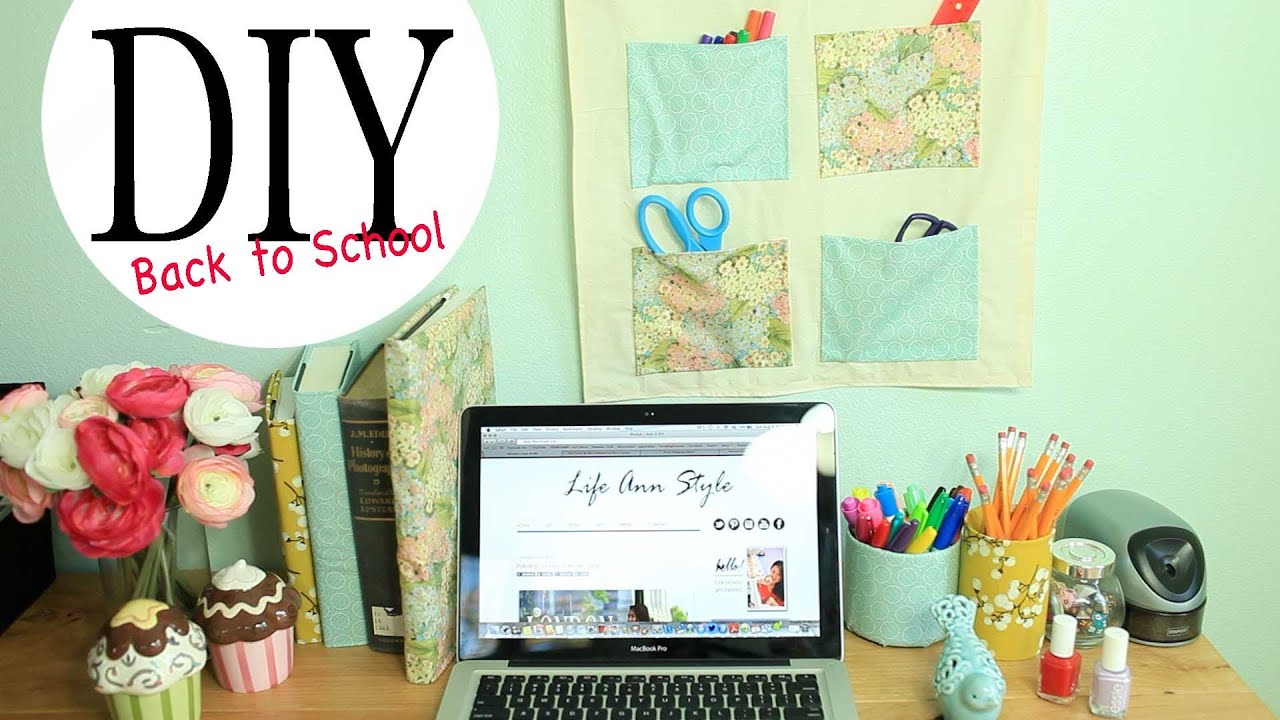 Best Diy Wall Organizer Desk Accessories Back To School This Month