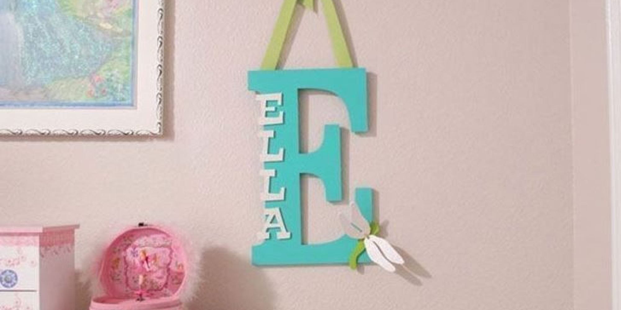 Best Baby Name Decor 15 Ways To Personalize Your Baby S Nursery This Month