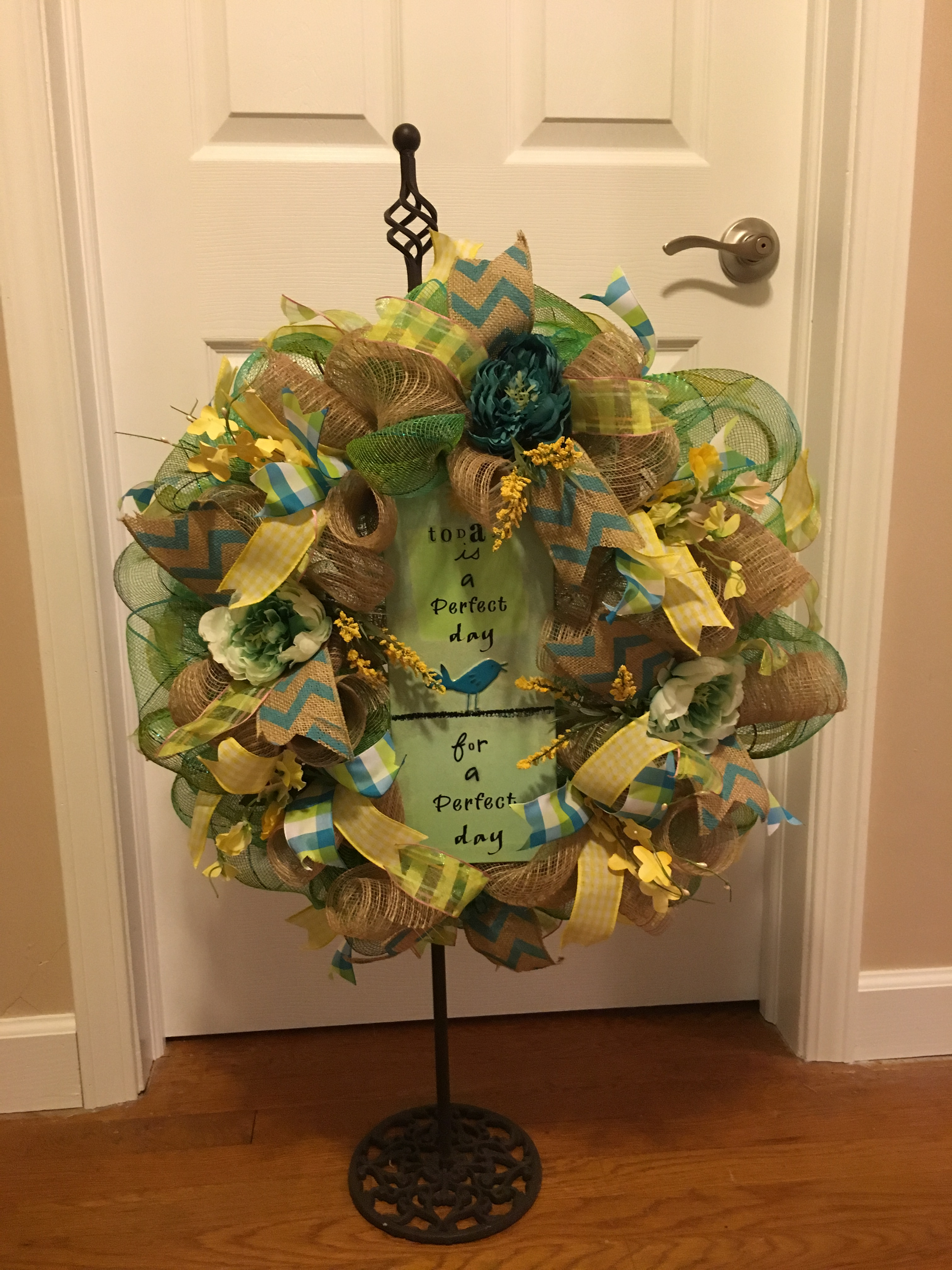 Best Everyday Wreath Welcome Wreath Front Door Wreath Home This Month
