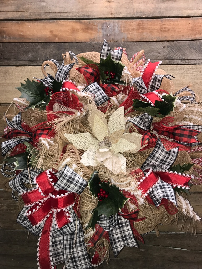 Best Christmas Wreath Holiday Wreath Rustic Holiday Wreath This Month