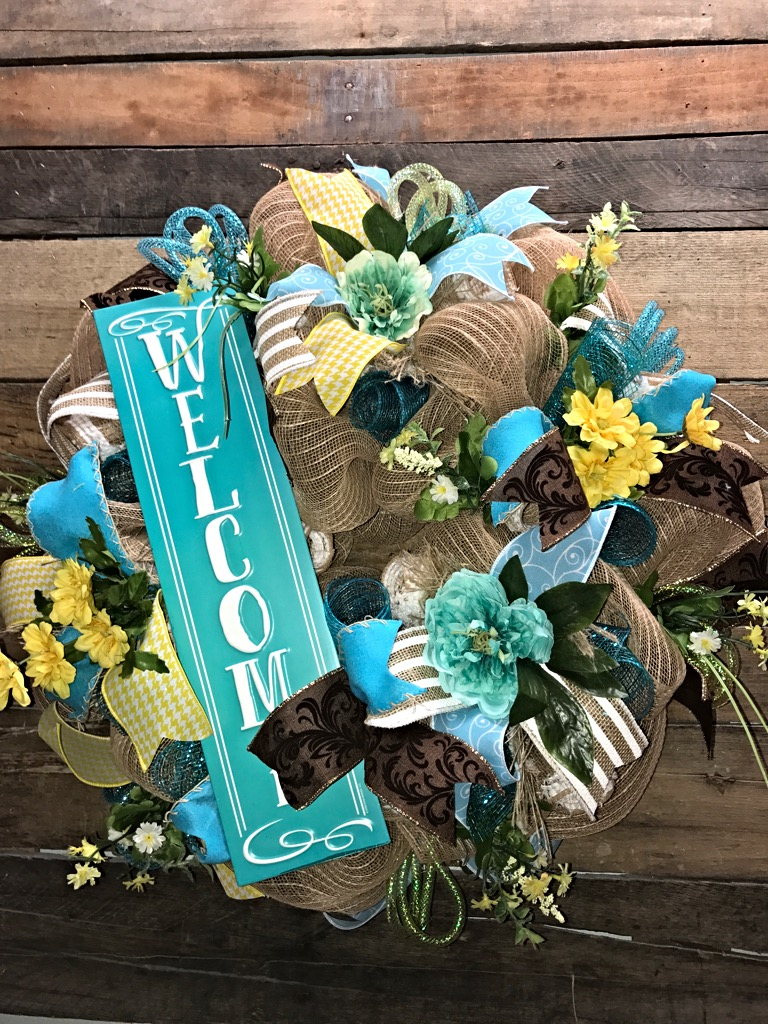 Best Spring Wreath Summer Wreath Welcome Wreath Everyday This Month
