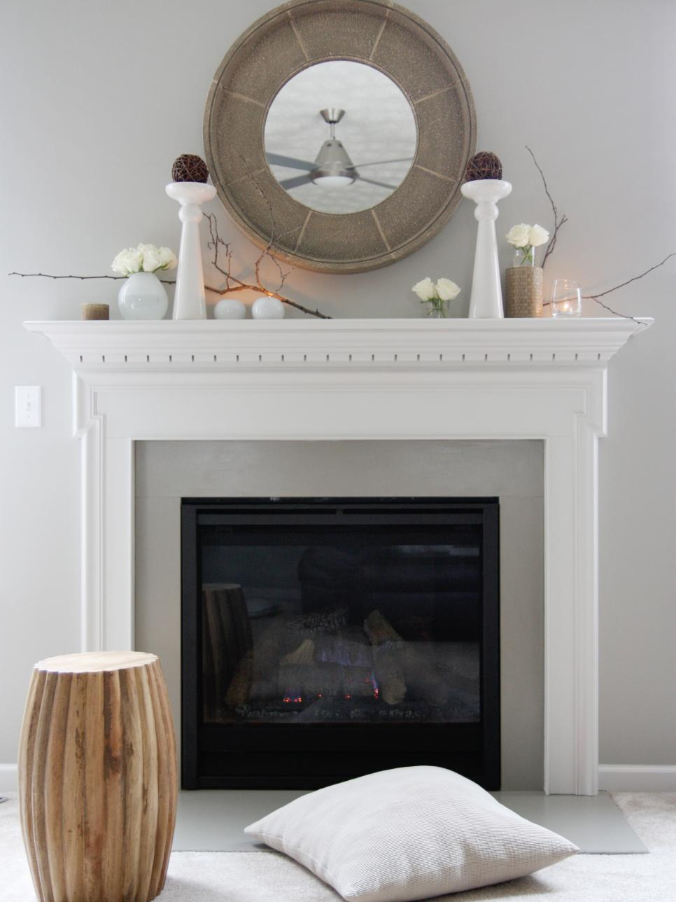 Best Decorate Your Mantel Year Round Hgtv This Month