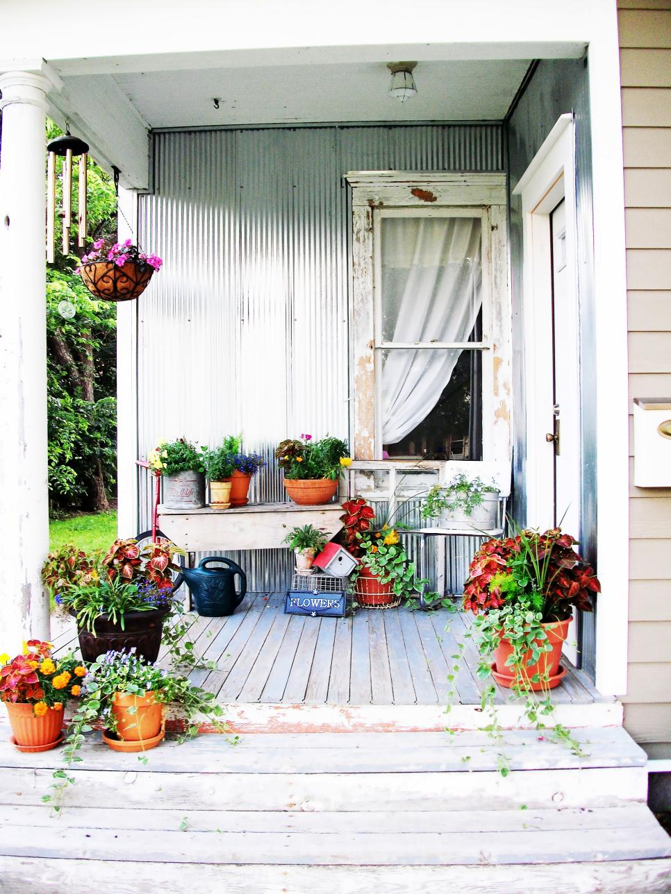 Best Shabby Chic Decorating Ideas For Porches And Gardens Hgtv This Month