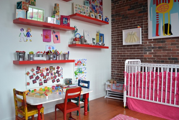 Best 15 Cool And Wonderful Kids Room Design With Office This Month