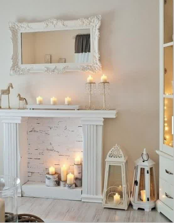 Best 20 Romantic Fireplace Candle Ideas Home Design And Interior This Month