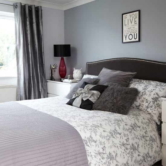 Best Grey And Black Bedroom Bedroom Decorating Housetohome This Month