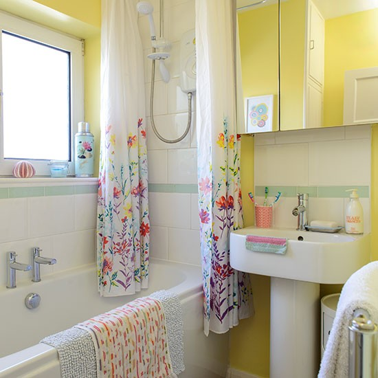 Best Colourful Yellow Bathroom Decorating With Bright Colours This Month