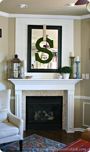 Best Over The Fireplace From Thrifty Decor Ch*Ck This Month