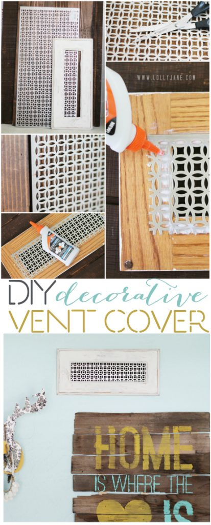 Best Diy Decorative Vent Cover This Month