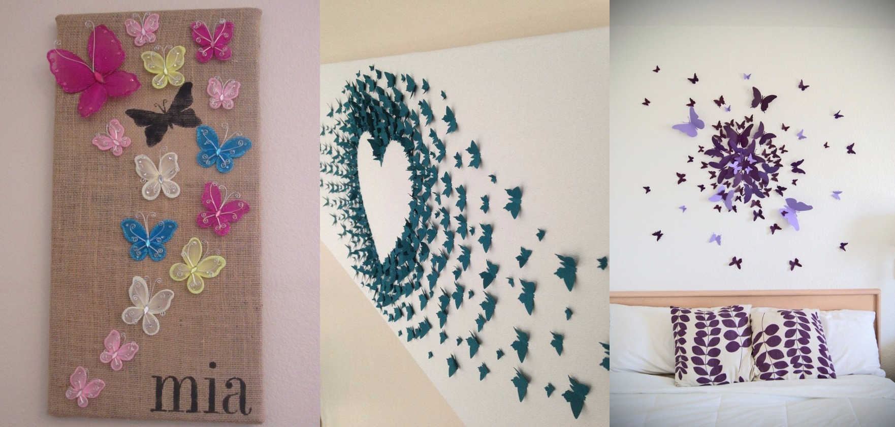 Best 10 Diy Butterfly Wall Decor Ideas With Directions A Diy This Month