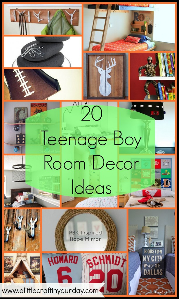Best 20 Teenage Boy Room Decor Ideas A Little Craft In Your Day This Month