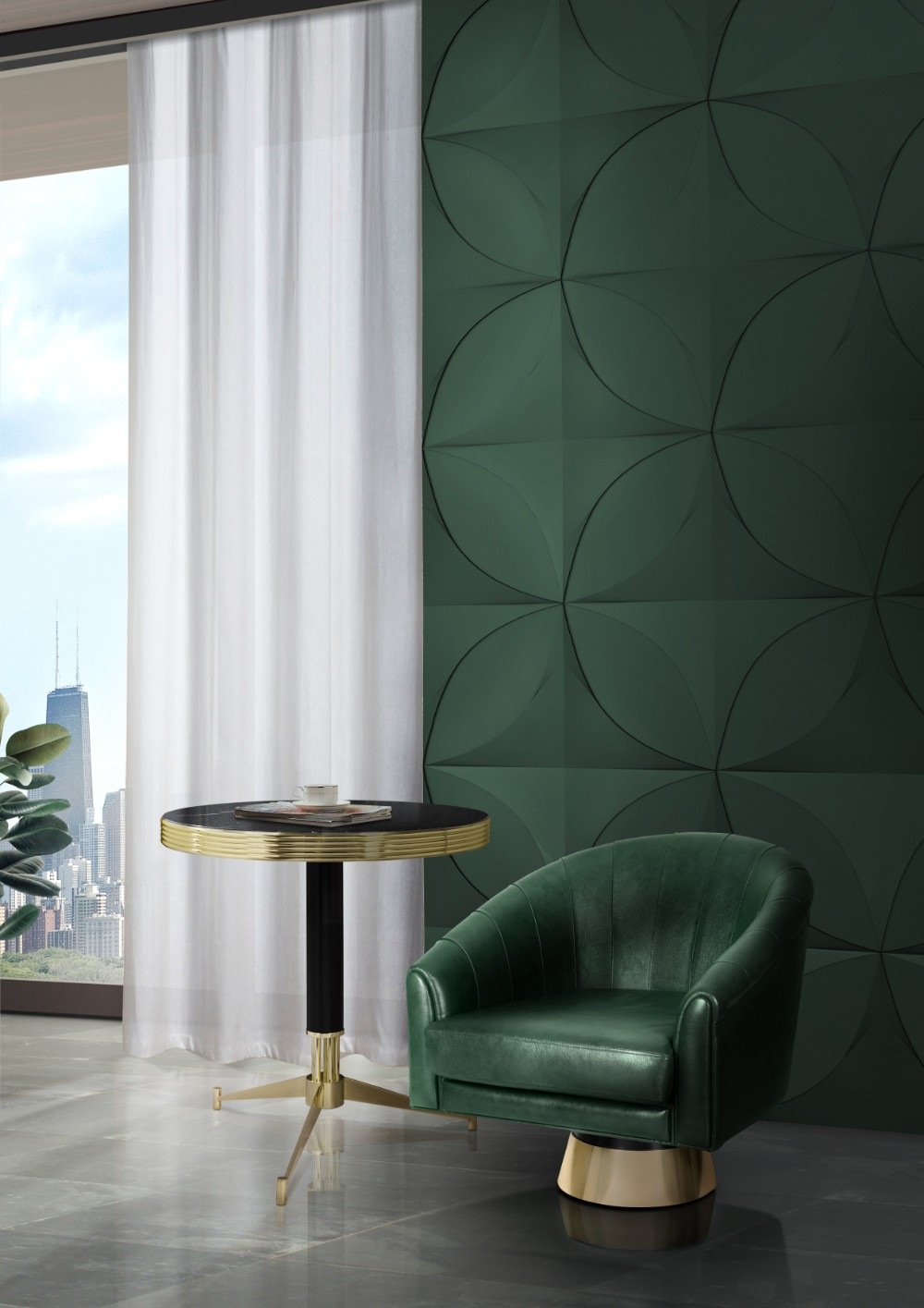 Best 2018 Color Trends Rocking A Green Decor In Your Mid This Month