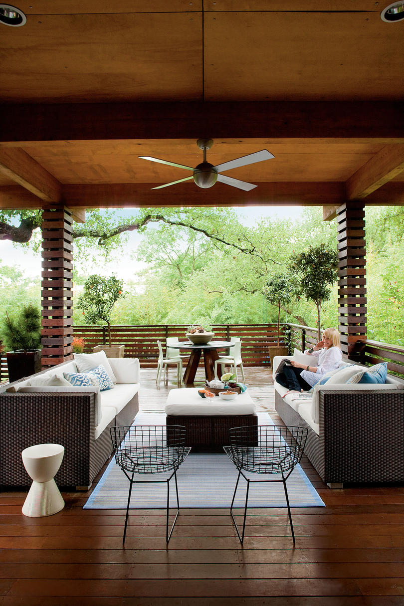 Best Zen Inspired Backyard Deck Southern Living This Month