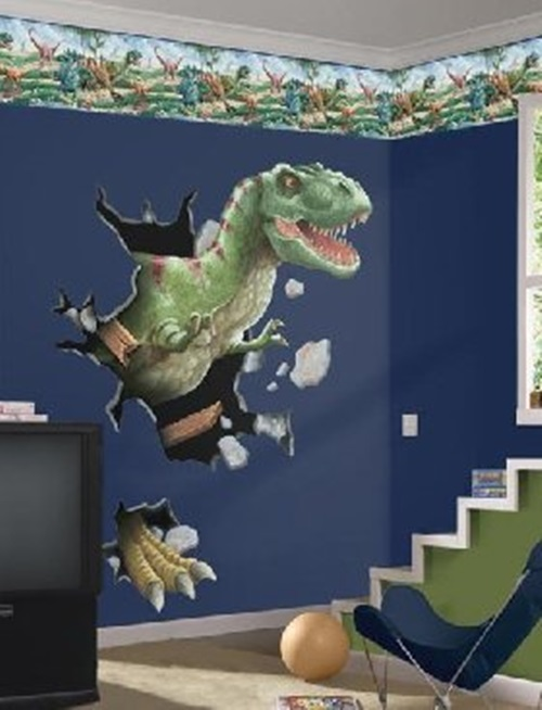 Best Dinosaurs Wall Themes For Kids Room Interior Design This Month