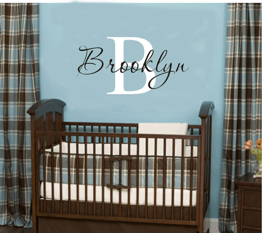 Best Wall Stickers Custom Baby Name Personal Vinyl Decal Decor This Month