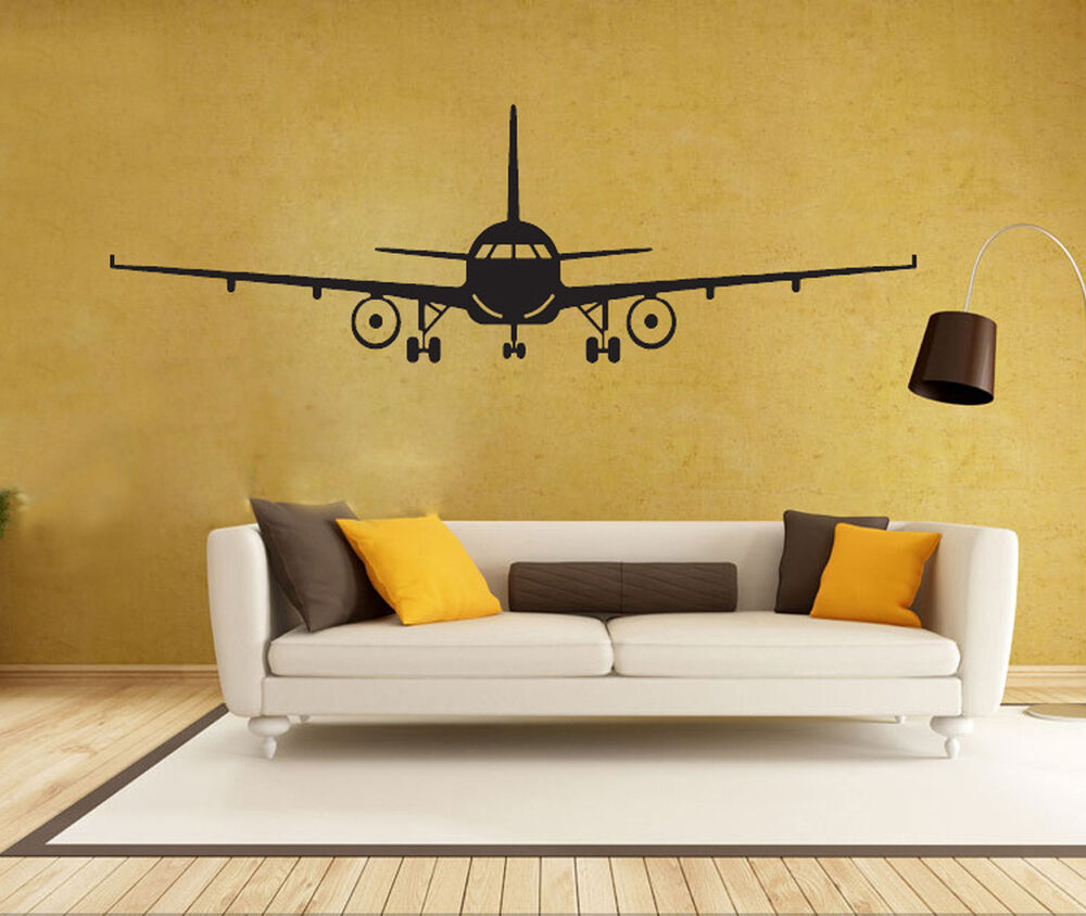 Best Airplane Silhouette Piolets Flying Vinyl Wall Sticker This Month
