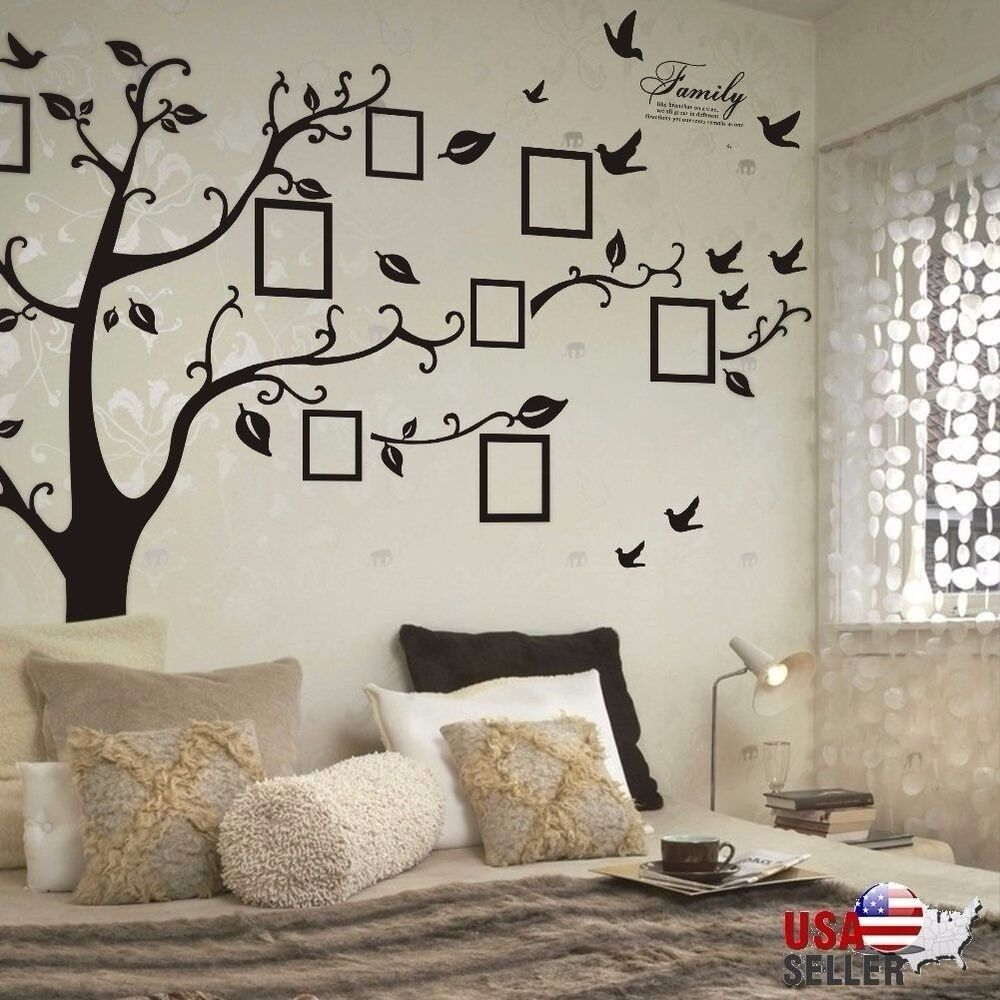 Best Family Tree Wall Decal Sticker Large Vinyl Photo Picture This Month