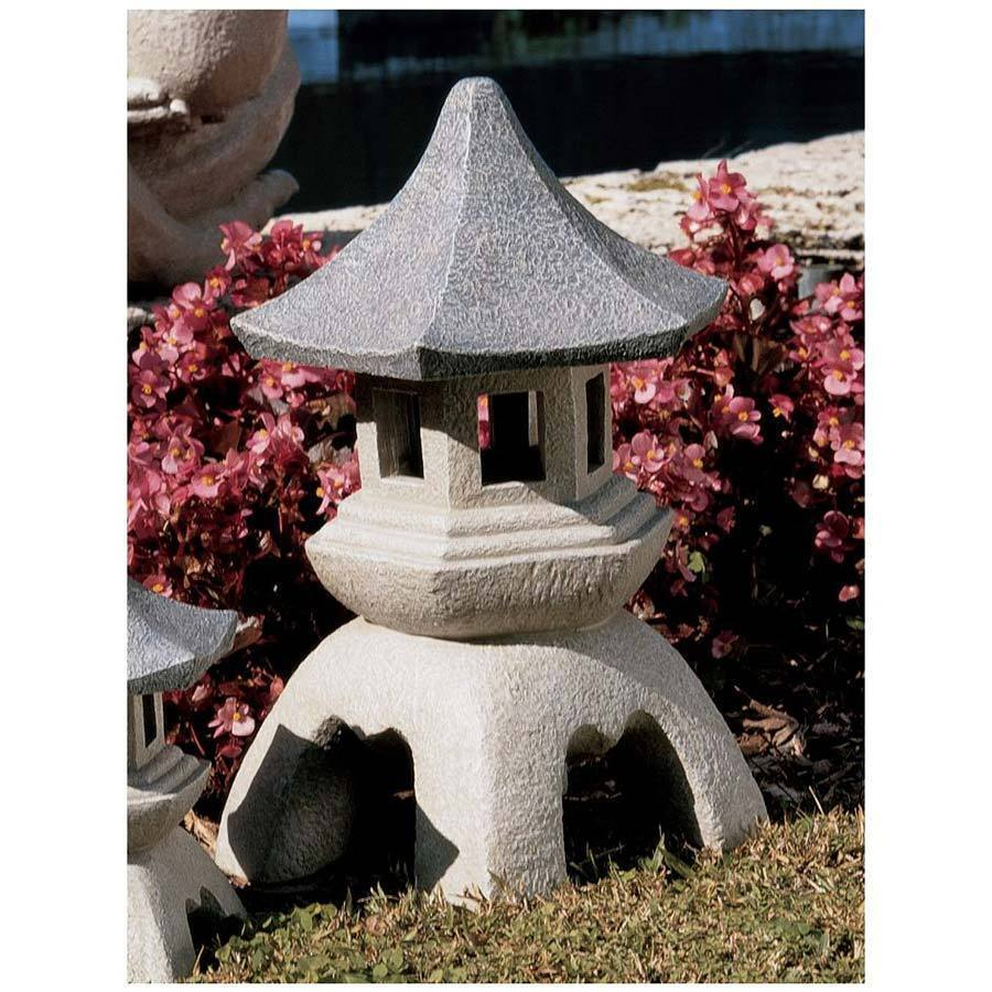 Best Large Pagoda Lantern Statue Asian Themed Garden Decor This Month