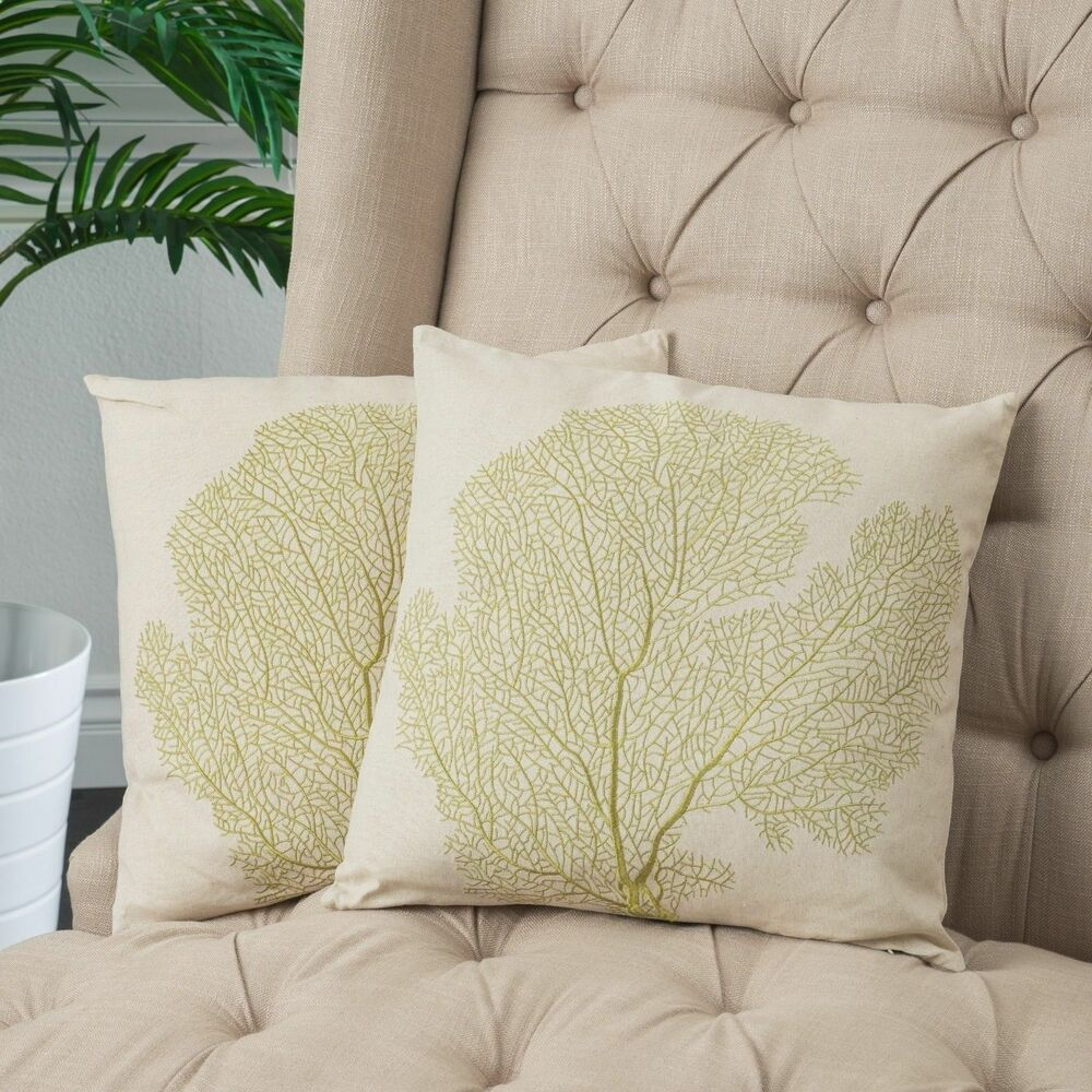 Best Home Decor 18 Embroidered Tree Beige Linen Blend Throw This Month