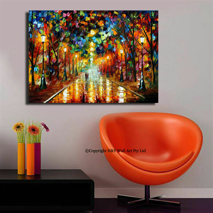 Best Romantic Nights Stretched Canvas Print Framed Wall Art This Month