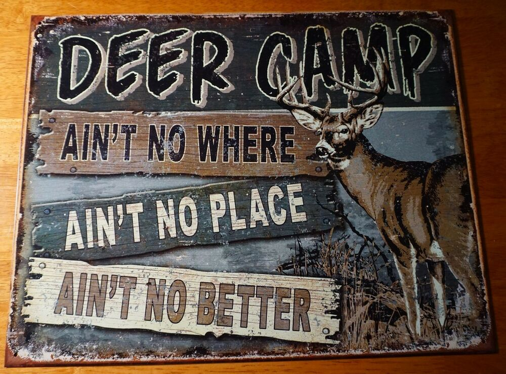 Best Deer Camp Hunting Lodge Hunter Cabin Home Decor Rustic This Month