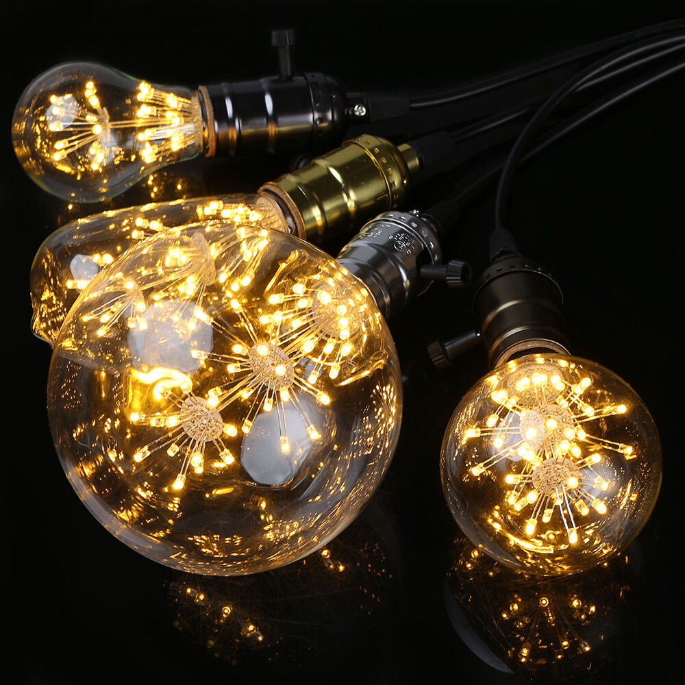 Best Star 3W Edison Bulb Led Filament Retro Firework Industrial This Month