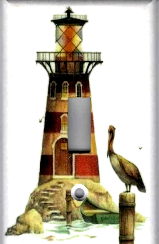 Best Lighthouse With Pelican Lighthouse Nautical Home Wall This Month