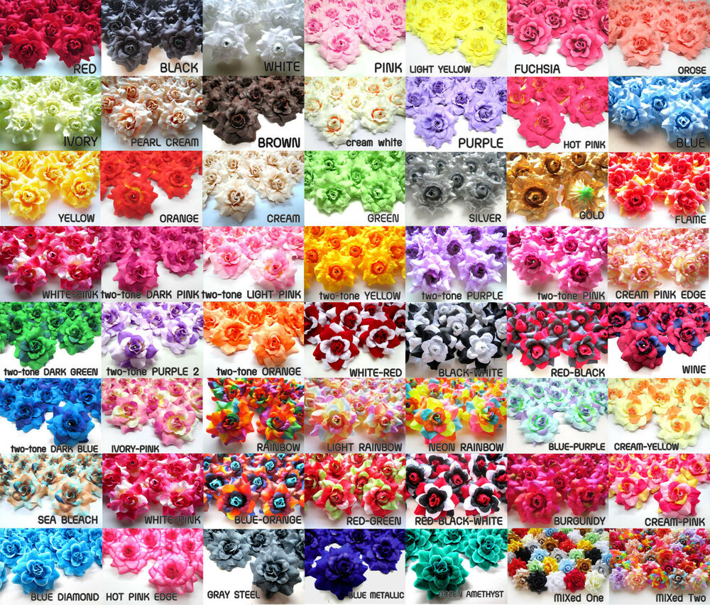 Best 100Pcs 1 75 Silk Roses Fabric Artificial Flower This Month