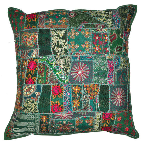 Best 24X24 Vintage Bohemian Indian Throw Pillow Gypsy Throw This Month